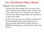 java distributed object model1