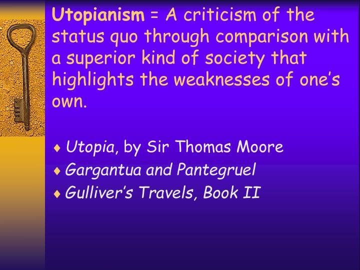 a criticism of a criticism of