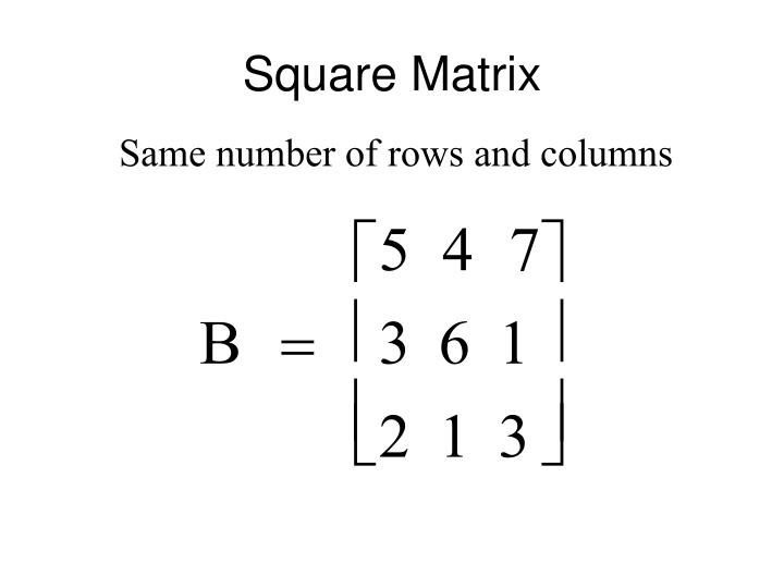 Square Matrix