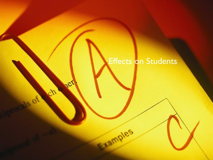 Effects on Students
