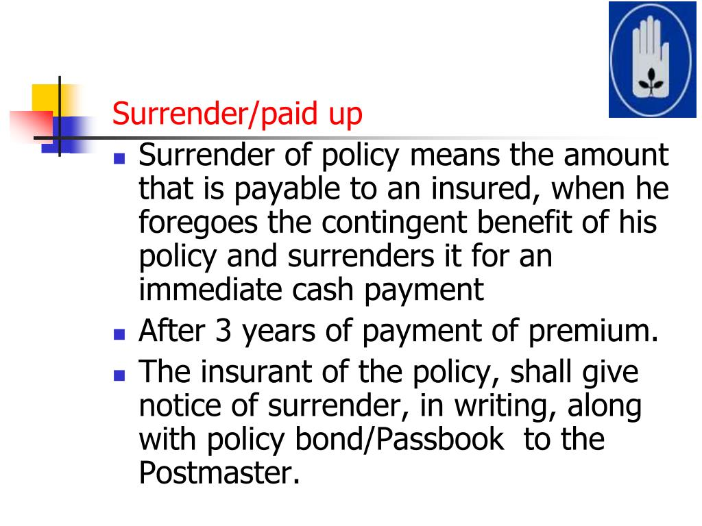 PPT - Rural Postal Life Insurance PowerPoint Presentation ...