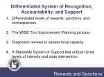 differentiated system of recognition accountability and support