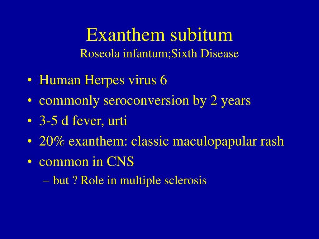 PPT - Childhood Exanthemata PowerPoint Presentation - ID:5778251