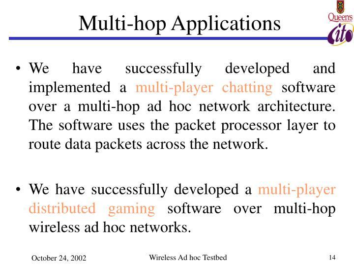 Multi-hop Applications