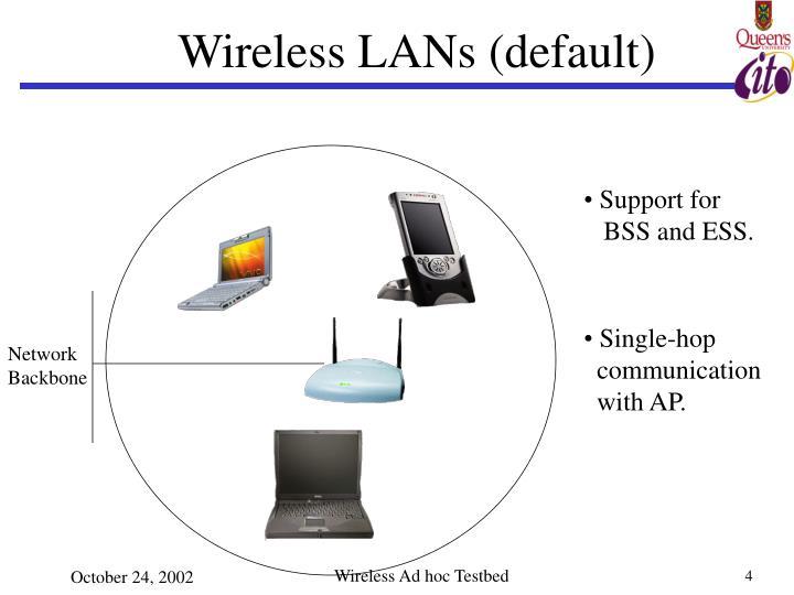 Wireless LANs (default)