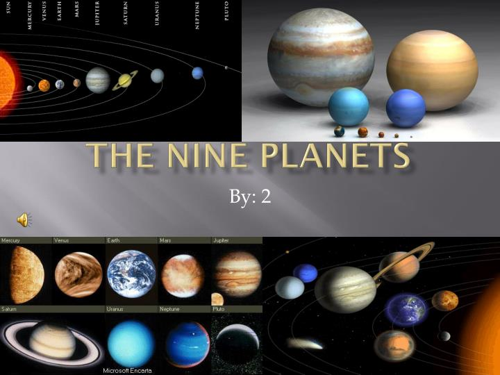 the nine planets - 720×540
