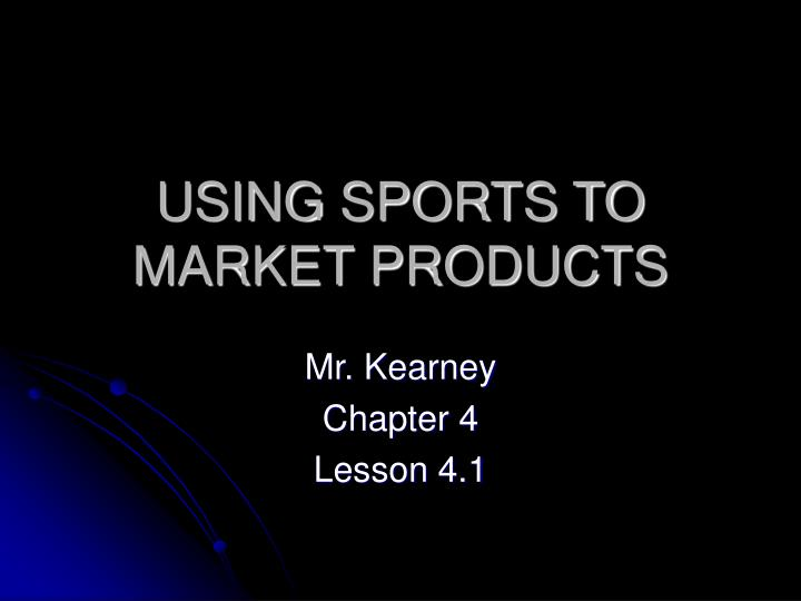 using sports to market products n.