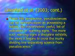 lilienfeld et al 2003 cont