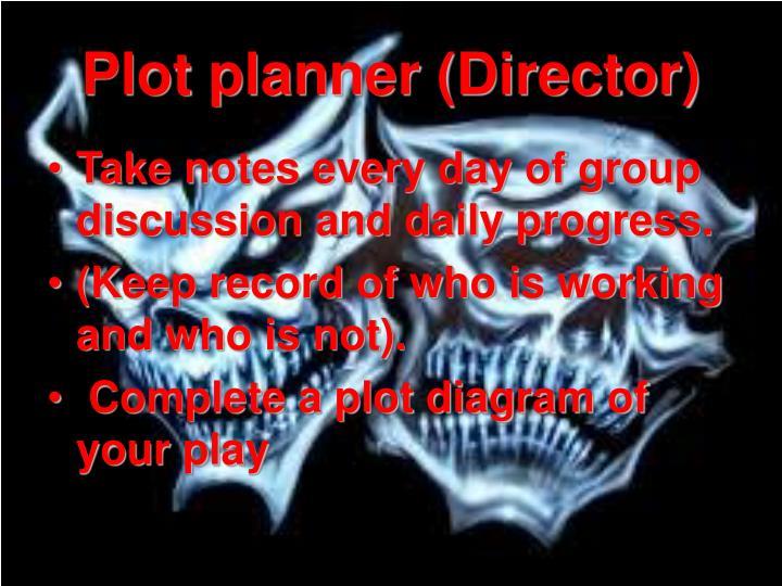 Plot planner (Director)