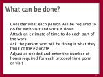 what can be done1