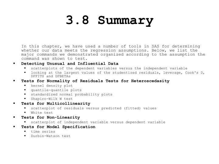 3.8 Summary