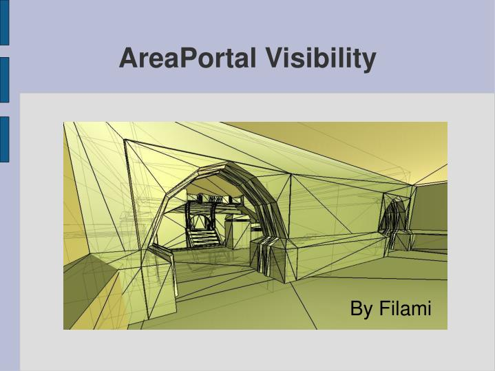 areaportal visibility n.