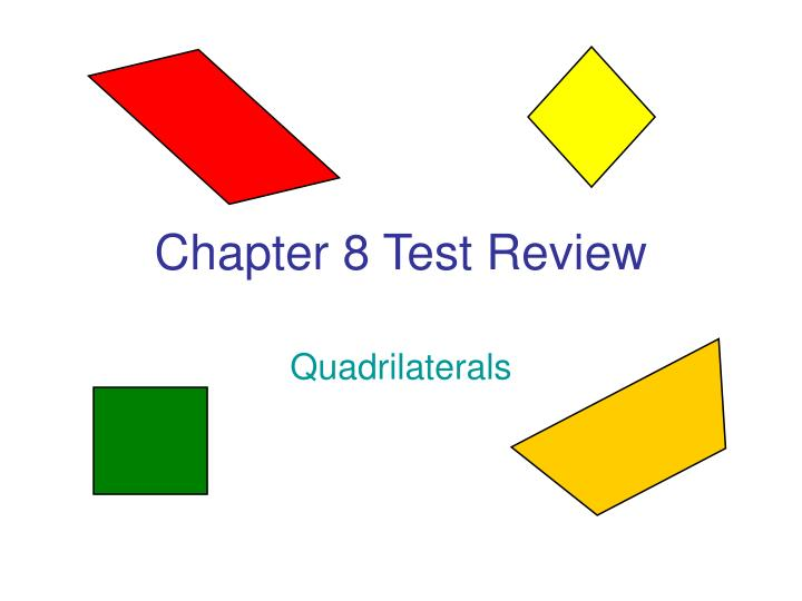 chapter 8 test review n.