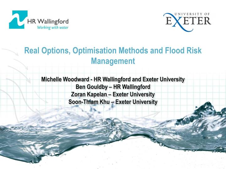 real options thesis Project valuation using real options a thesis submitted for the degree of master of advanced studies in management, technology, and economics swiss federal institute of technology zurich (ethz.