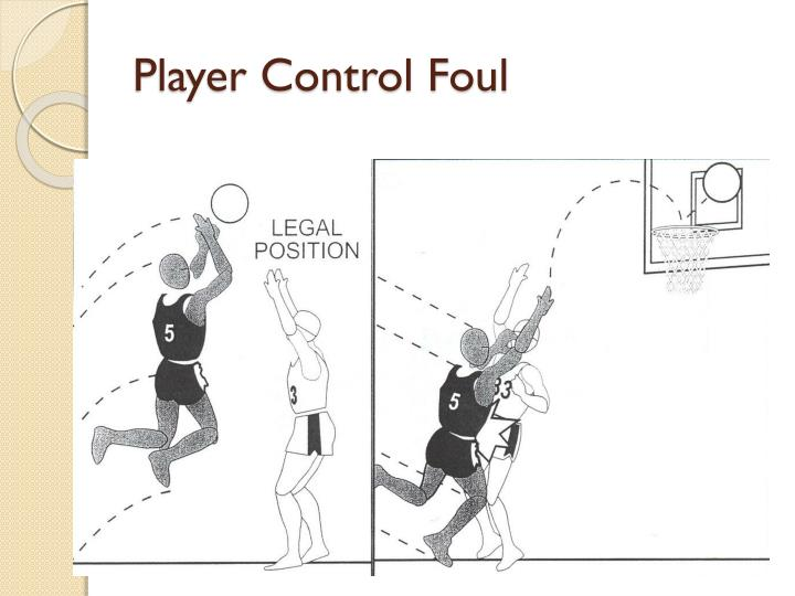 Player Control Foul