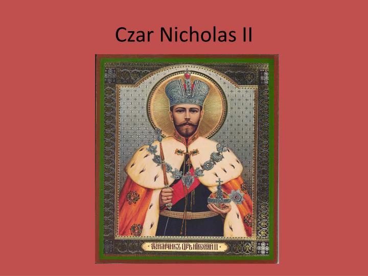 Czar Nicholas II