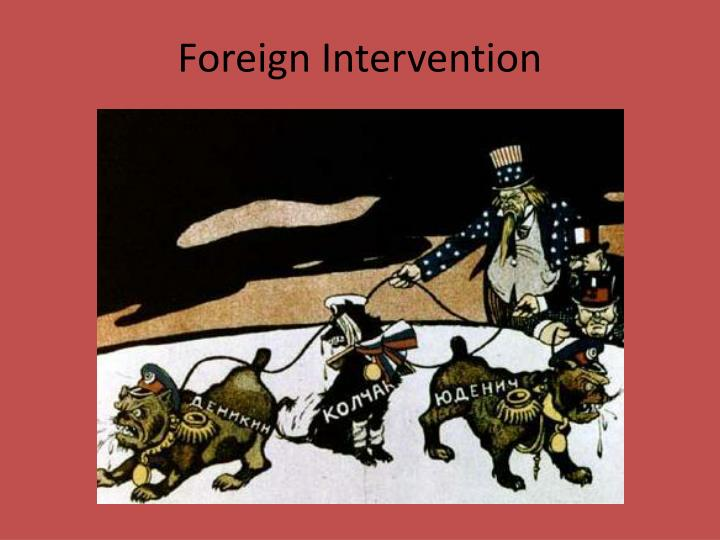 Foreign Intervention