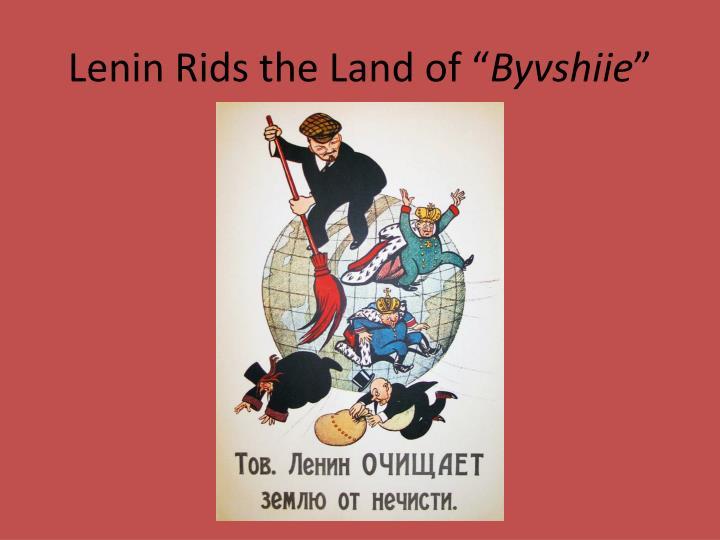 """Lenin Rids the Land of """""""