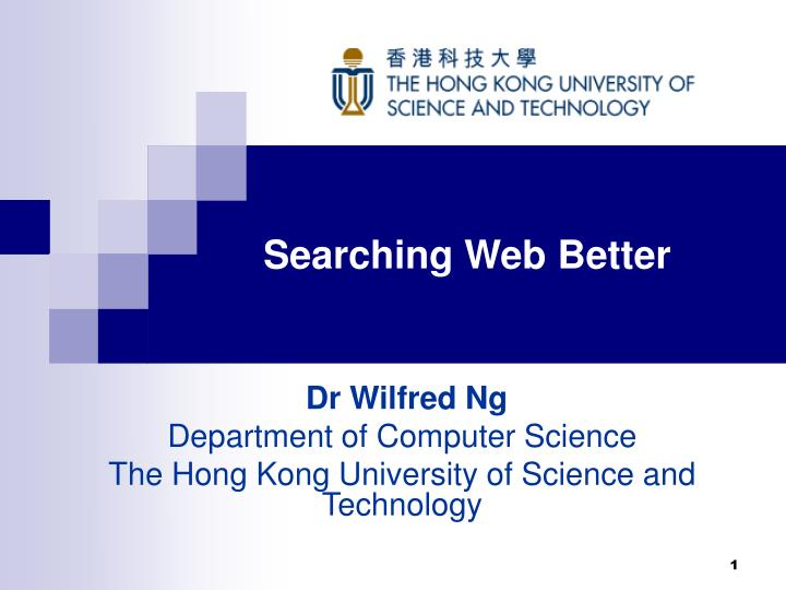 searching web better n.