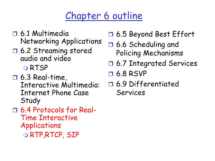 chapter 6 outline n.