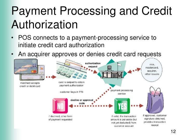 Payment Processing and Credit Authorization