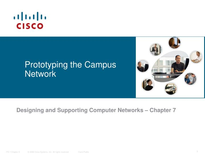 PPT - Prototyping the Campus Network PowerPoint Presentation - ID