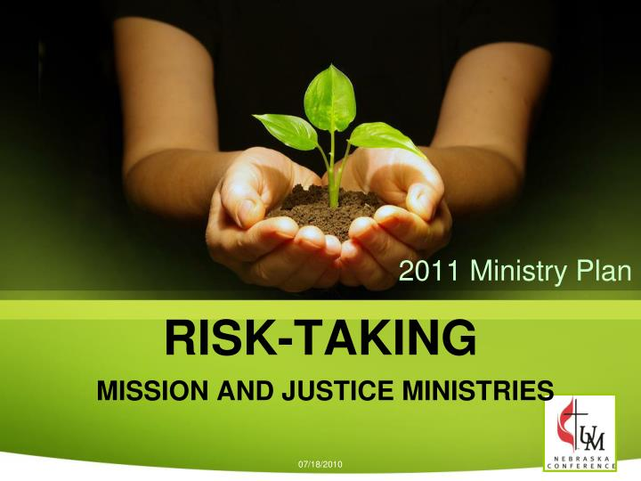 risk taking mission and justice ministries n.