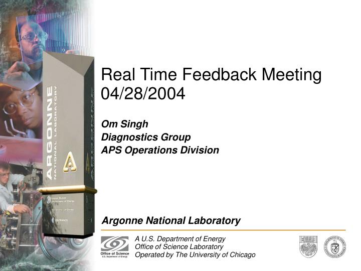real time feedback meeting 04 28 2004 n.