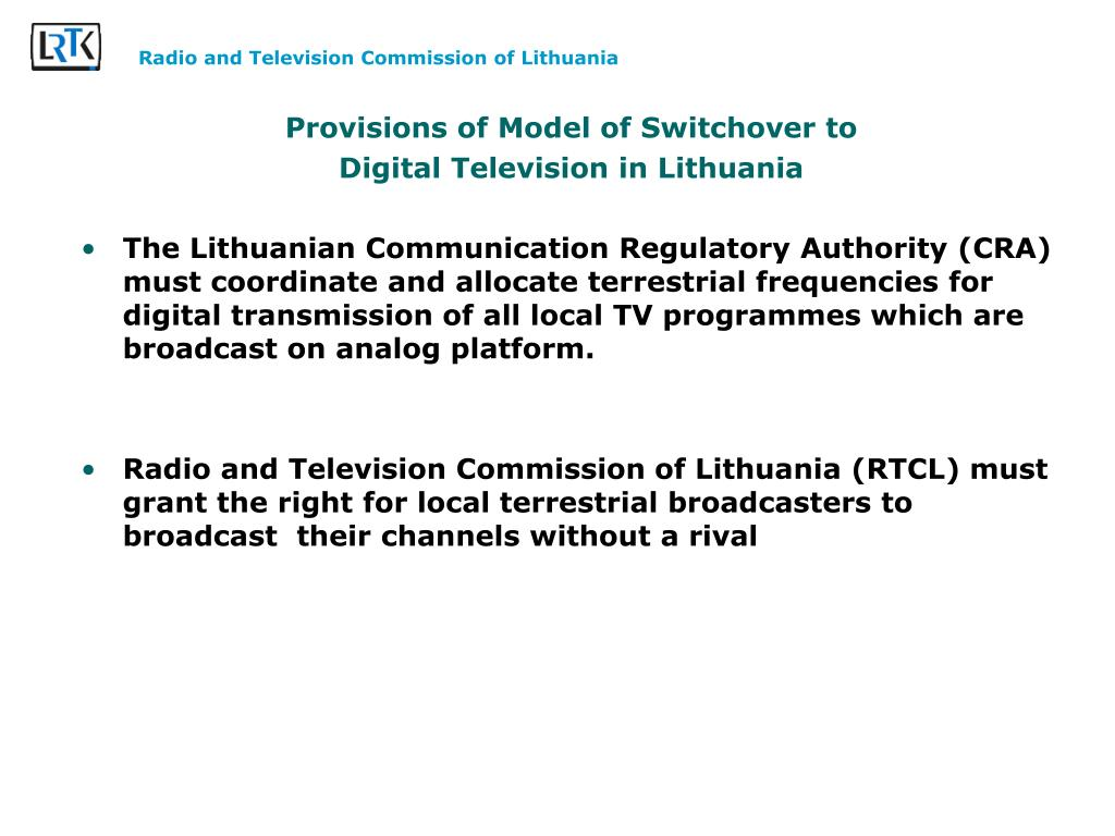 PPT - Digitalisation process in Lithuania, the future of