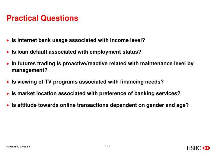 Practical Questions