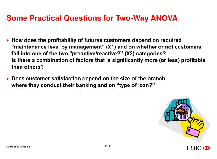 Some Practical Questions for Two-Way ANOVA