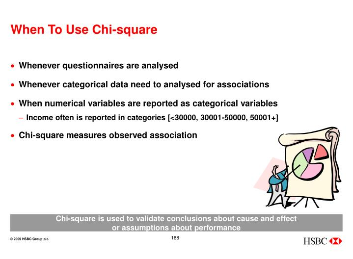 When To Use Chi-square