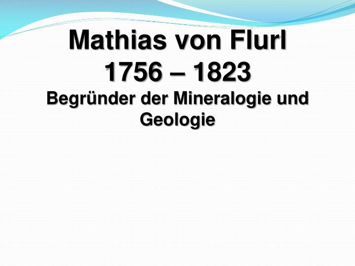 Mathias von Flurl