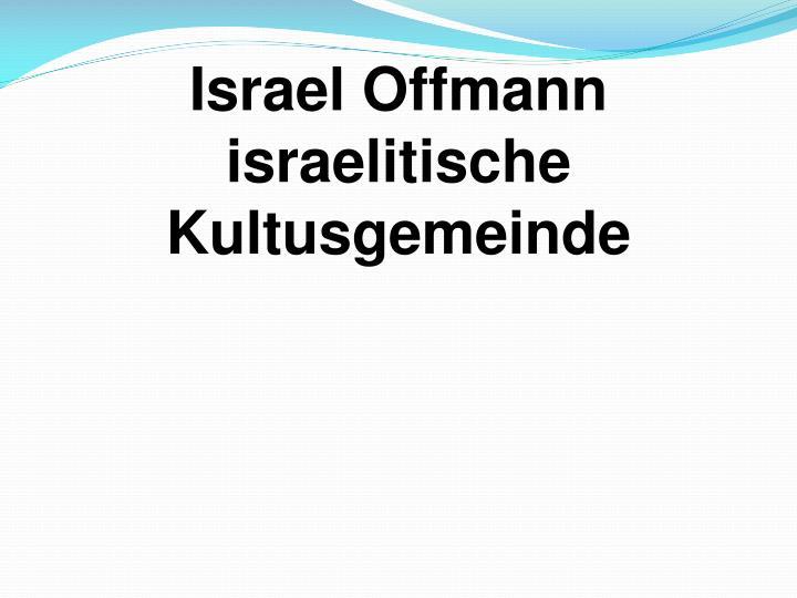 Israel Offmann