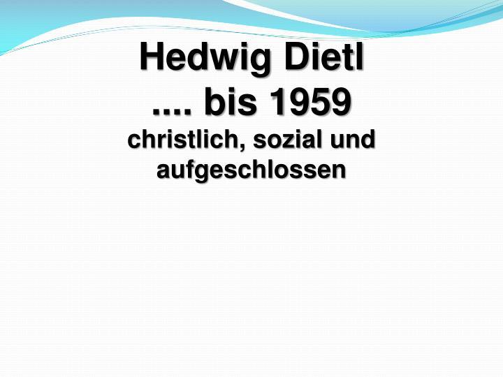 Hedwig Dietl