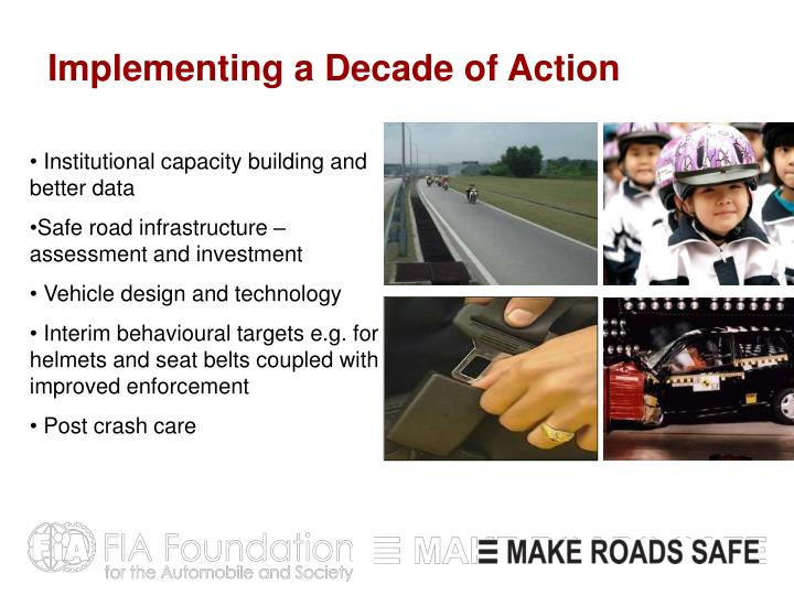 Implementing a Decade of Action