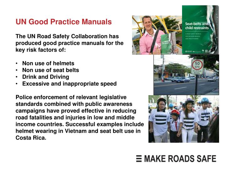 UN Good Practice Manuals