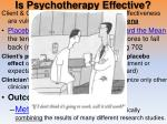 is psychotherapy effective1