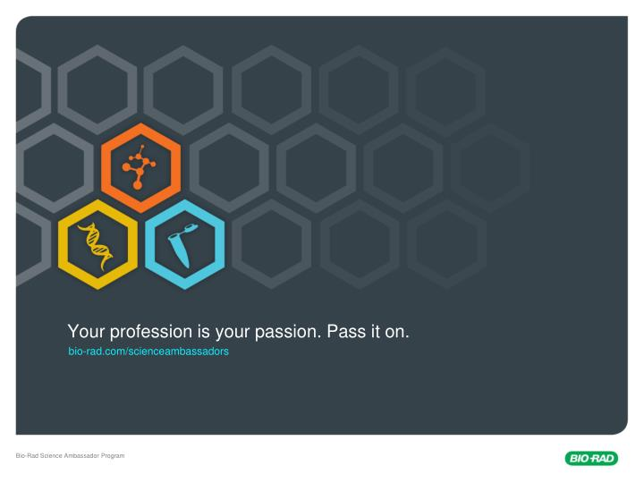 your profession is your passion pass it on n.