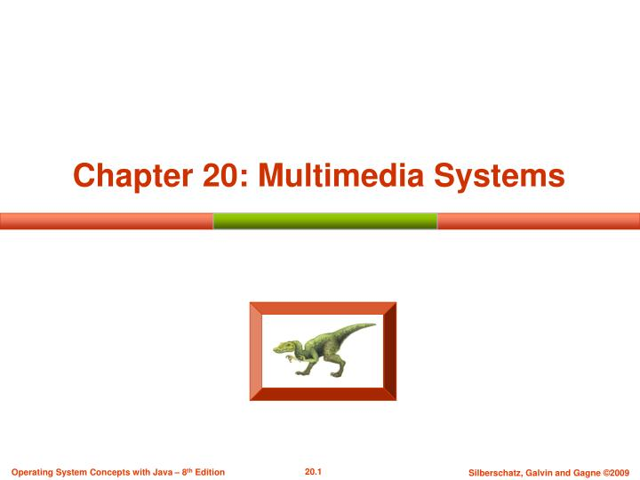 chapter 20 multimedia systems n.