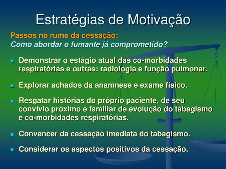 Estratégias de Motivação