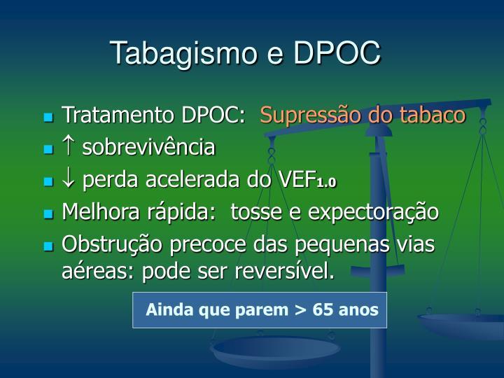 Tabagismo e DPOC
