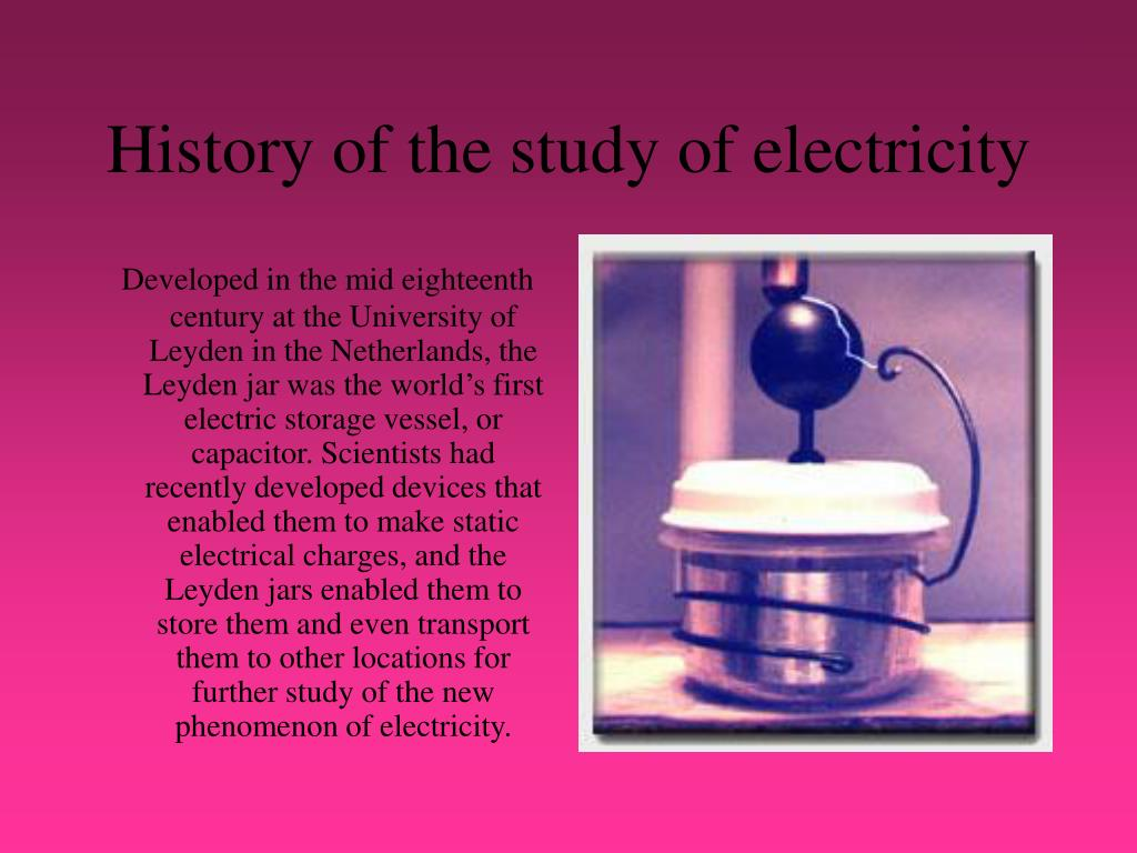 Capacitors Invention History And The Story Of Leyden Jar