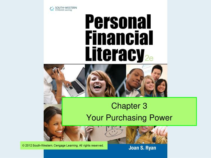 chapter 3 your purchasing power n.
