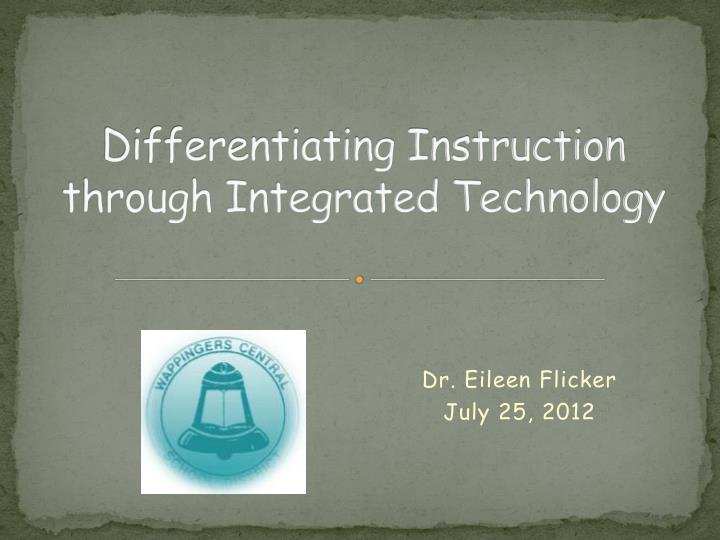 differentiating instruction through integrated technology n.