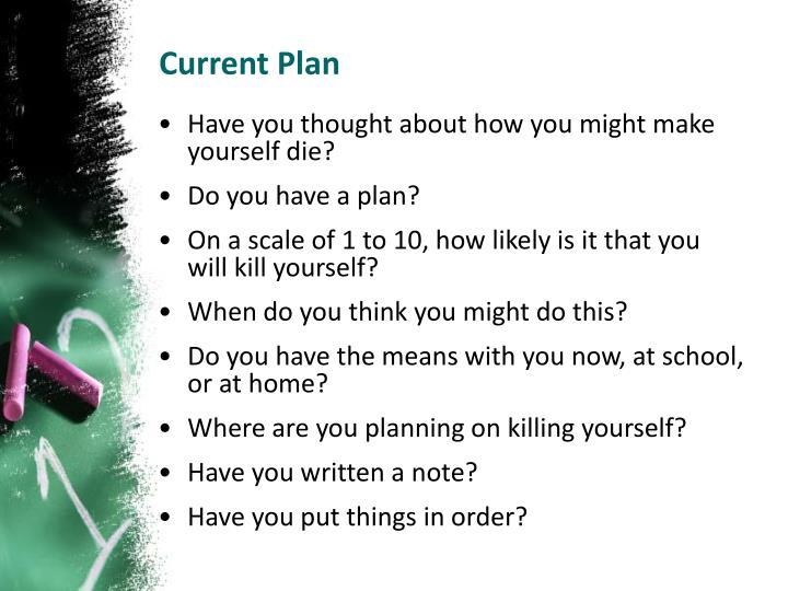Current Plan