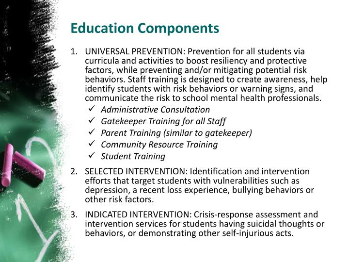 Education Components