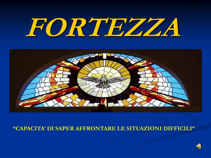 fortezza n.