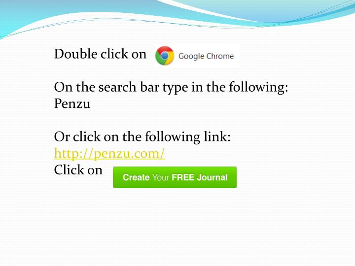 Double click on