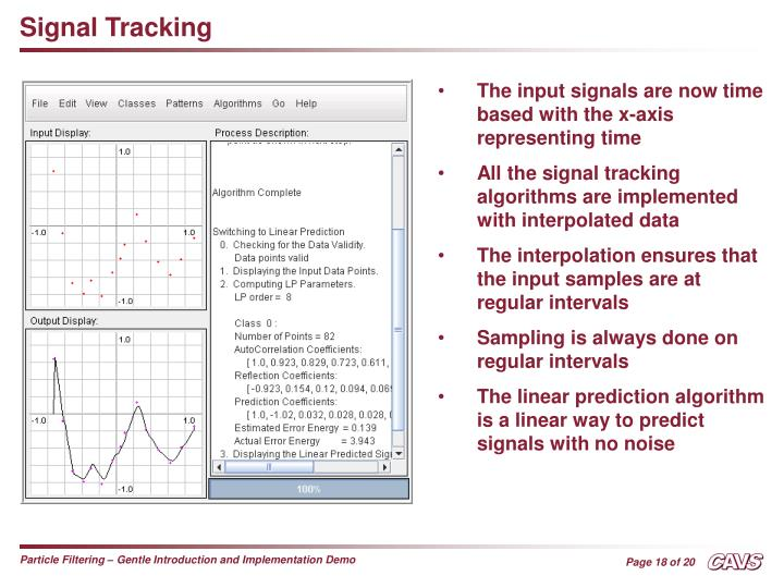 Signal Tracking